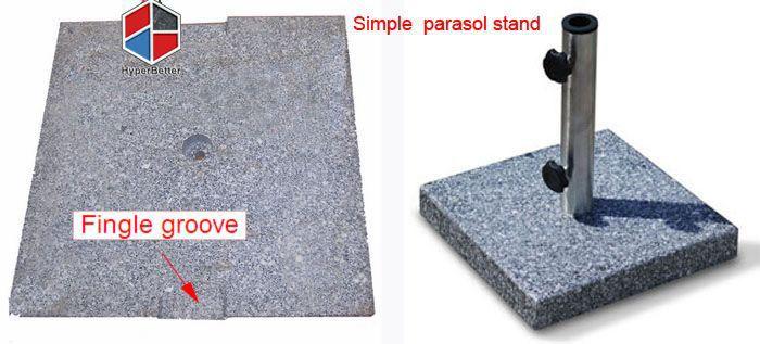 Cheapest granite umbrella base