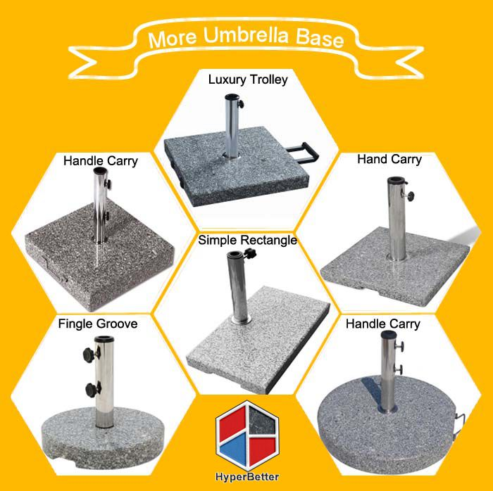 More Umbrella base from Hyperbetter
