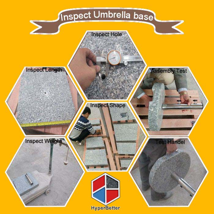 Hyperbetter inspect umbrella base