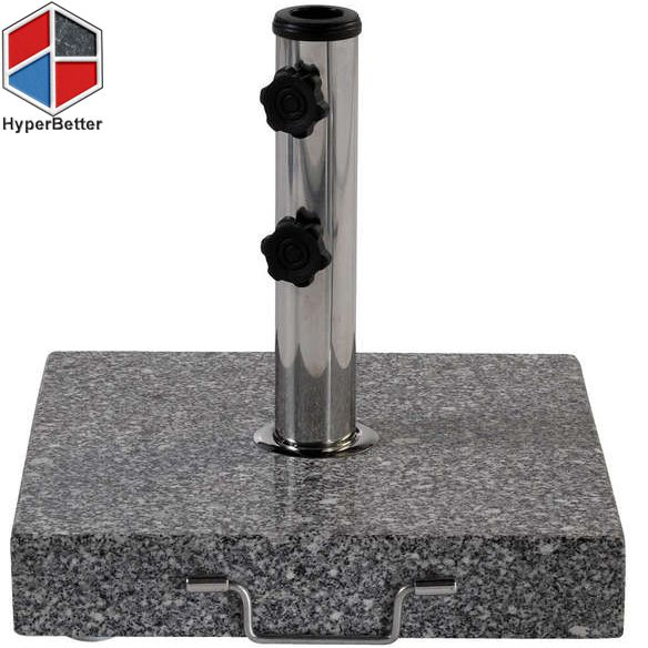 Outside Granite Umbrella Base with handle