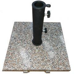 New granite square sun umbrella stand